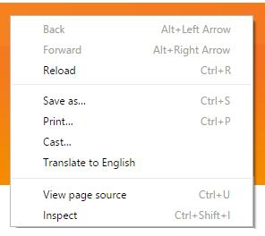 right click translate